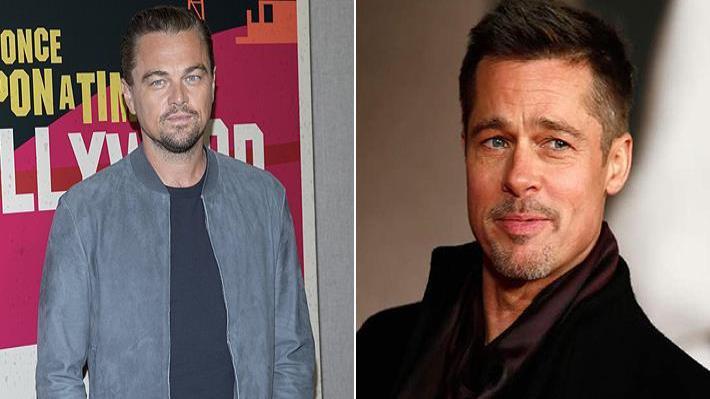 Brad Pitt y Leonardo DiCaprio rechazaron