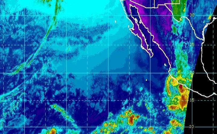 De acuerdo con medios locales, cuatro personas resultaron levemente lesionadas en Acapulco por los efectos de la tormenta, tres de ellas por la caída de una valla publicitaria. (NOAA) (horizontal-x3)