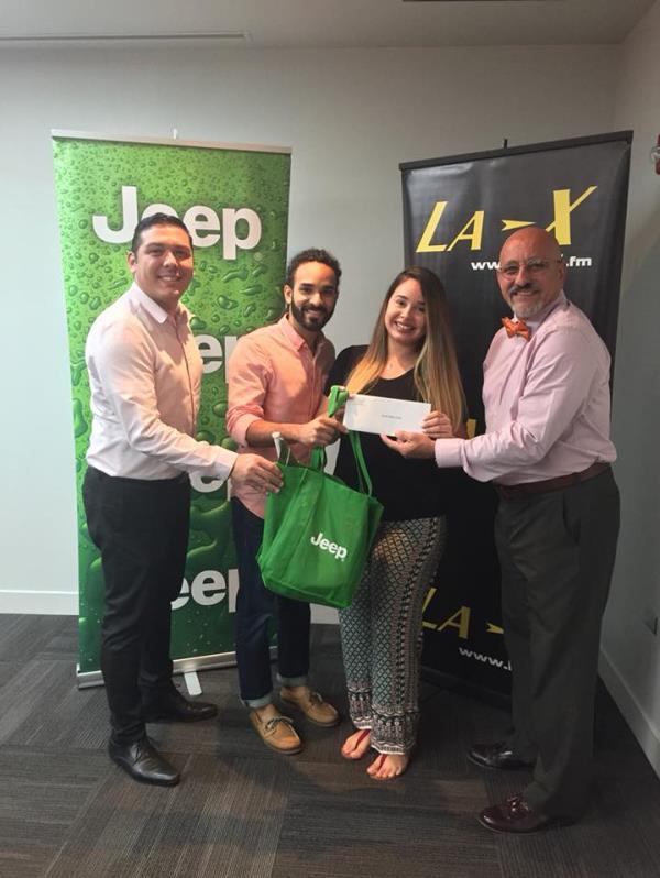 """En colaboración con La X, Yanira Mejías recibió como premio unas vacaciones """"all inclusive"""" para la República Dominicana."""