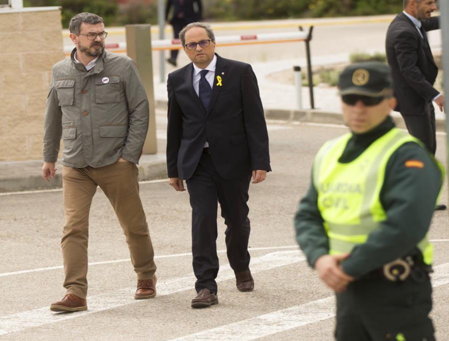 Independencia de Cataluña, Quim Torra, España (semisquare-x3)