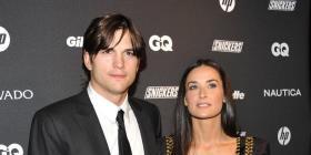"""Demi Moore dice que los """"tríos"""" fueron el inicio del fin en su relación con Ashton Kutcher"""