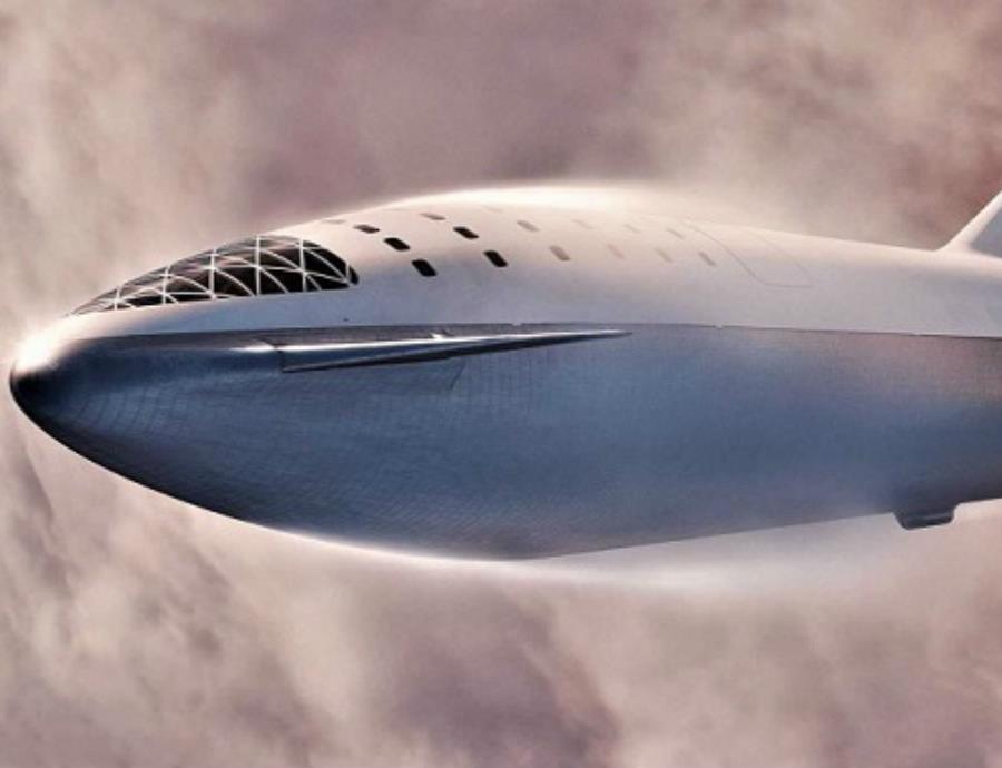 La nave espacial Starship de SpaceX, sería la encargada de completar la primera misión a Marte. (semisquare-x3)