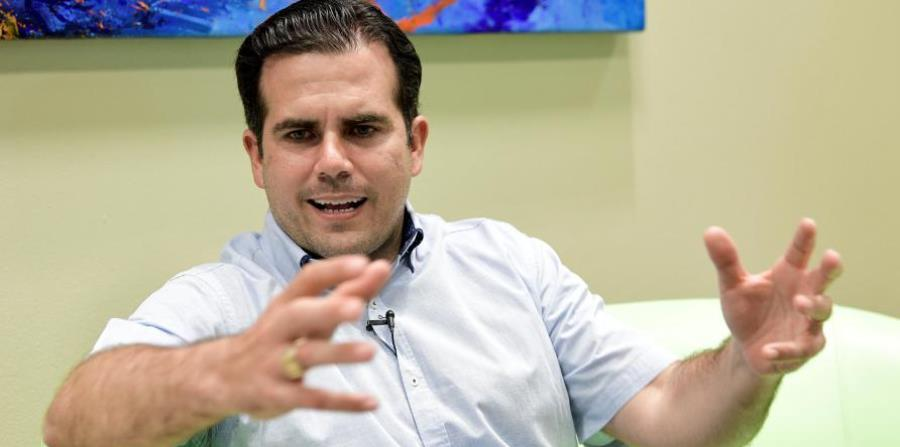 Rosselló spoke about what he has seen, about the complexity of logistics, of the disaster equation faced by Puerto Rico,  the lobby in Washington along with Resident Commissioner Jenniffer Gonzalez. (horizontal-x3)