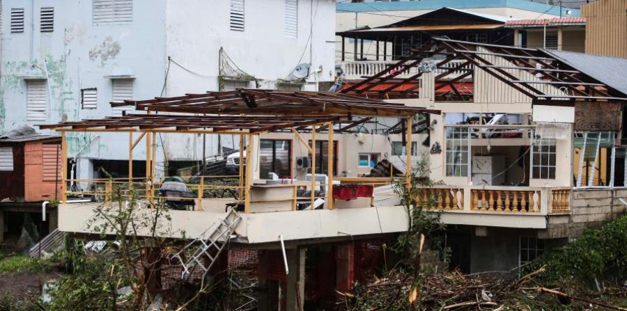 The funds allocated would be used to rebuild homes affected by Hurricane Maria. (horizontal-x3)