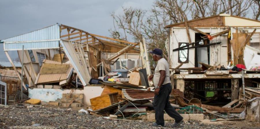The estimated damage caused by Hurricane Maria would be around 45 percent of the island's gross product, economist Rafael Romeu said. (horizontal-x3)