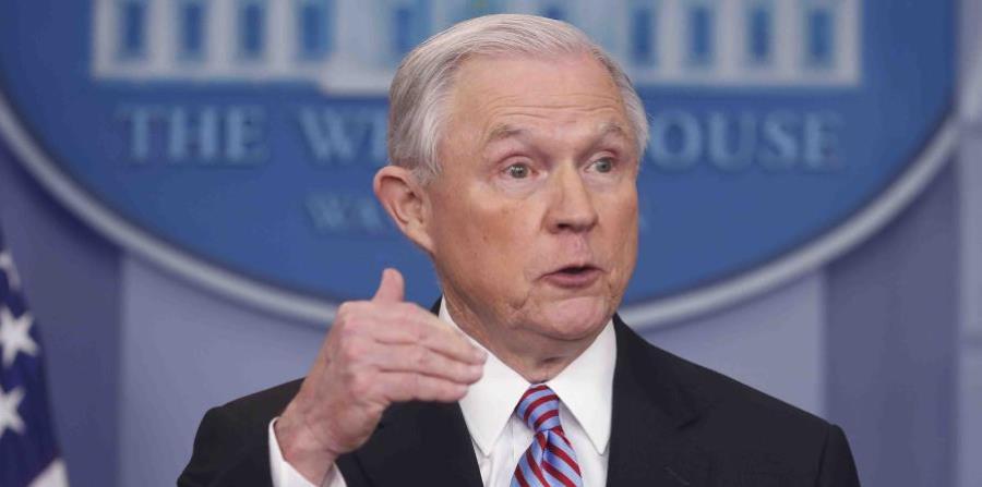 Jeff Sessions, US Secretary of Justice. (horizontal-x3)