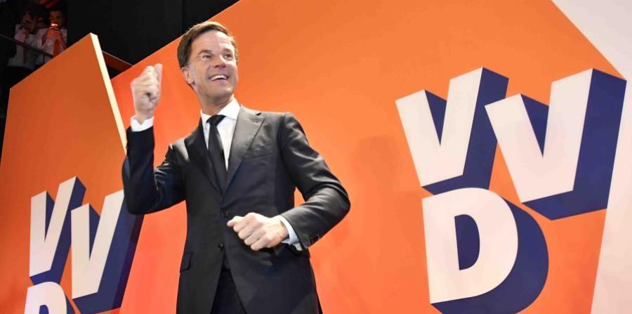 El primer ministro de Holanda, Mark Rutte (horizontal-x3)