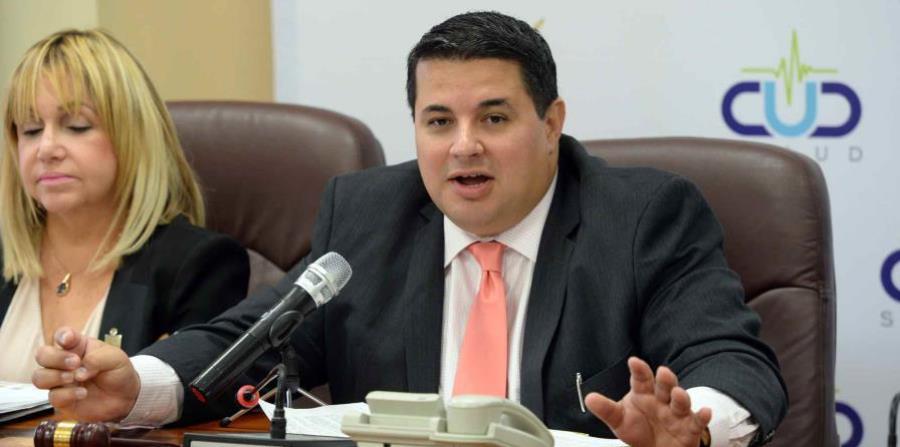 El presidente del CUD, Nelson Ramírez (horizontal-x3)