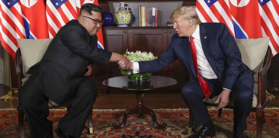 Donald Trump y Kim Jong-un (horizontal-x3)