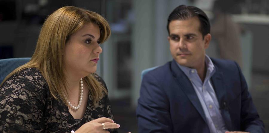 La comisionada residente en Washington, Jenniffer González, también participó de la dinámica informativa. (horizontal-x3)