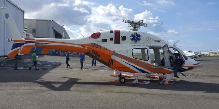 Helic ptero comprado por salud sigue sin volar el nuevo d a - Volar a puerto rico ...