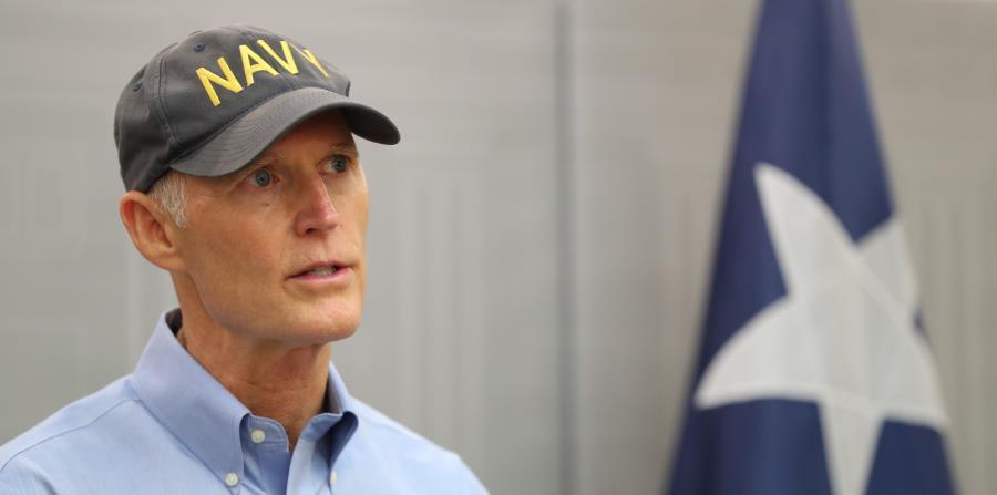 El gobernador de Florida, Rick Scott. (horizontal-x3)