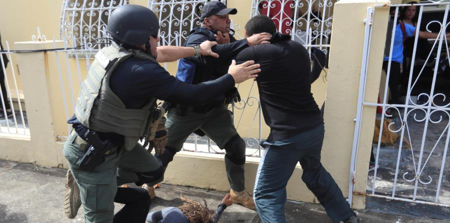 Several young people were arrested on Tuesday in the Santa Rita urbanization, after the May 1 protest. (horizontal-x3)
