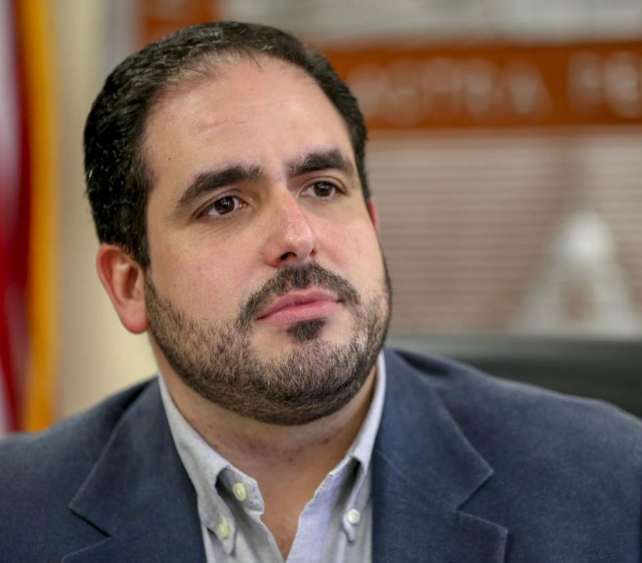 El director ejecutivo de la Aafaf, Christian Sobrino Vega (semisquare-x3)
