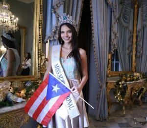 Miss Supranational llega a Puerto Rico tras ganar la corona
