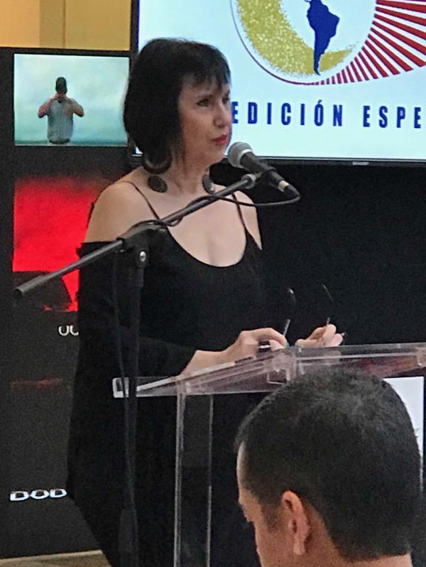 Myrna Escabí y PRIAS