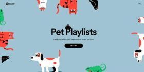 Spotify lanzó un nuevo playlist dedicado a las mascotas