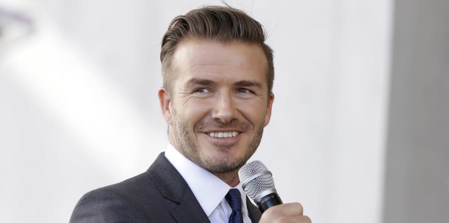 """""""Vamos a construir una de las franquicias más exitosas de la historia"""", expresó Beckham. (horizontal-x3)"""
