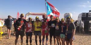 Grupo de boricuas completa el ultramaratón des Sables en el Sahara