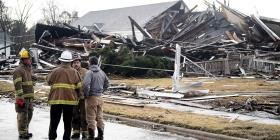 Tornados azotan un poblado de  Alabama
