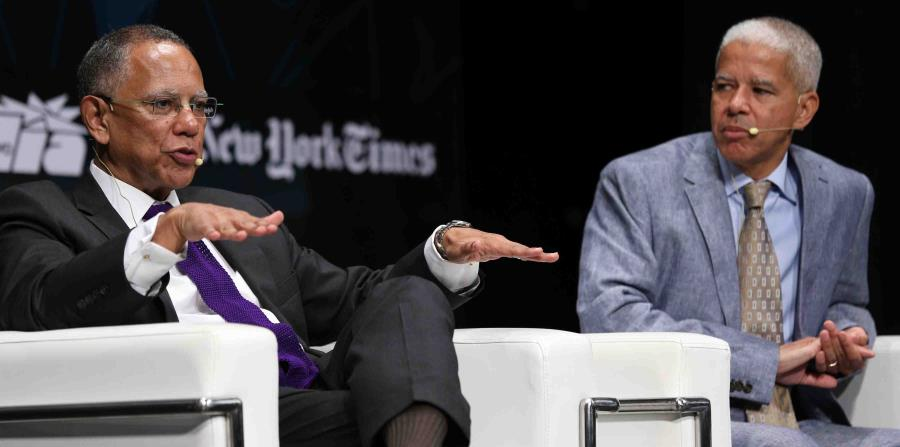 Executive Editor and the National Editor of The New York Times, Dean Baquet and Marc Lacey. (horizontal-x3)