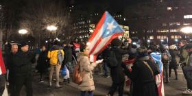 Se extienden a Nueva York las protestas en contra del gobierno de Puerto Rico