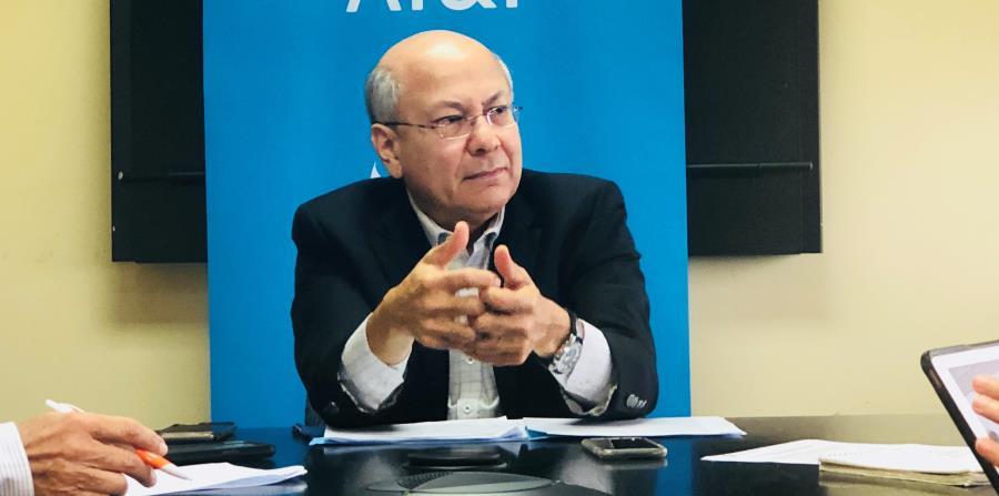 José Juan Dávila, vicepresidente y gerente general de AT&T en Puerto Rico. (horizontal-x3)