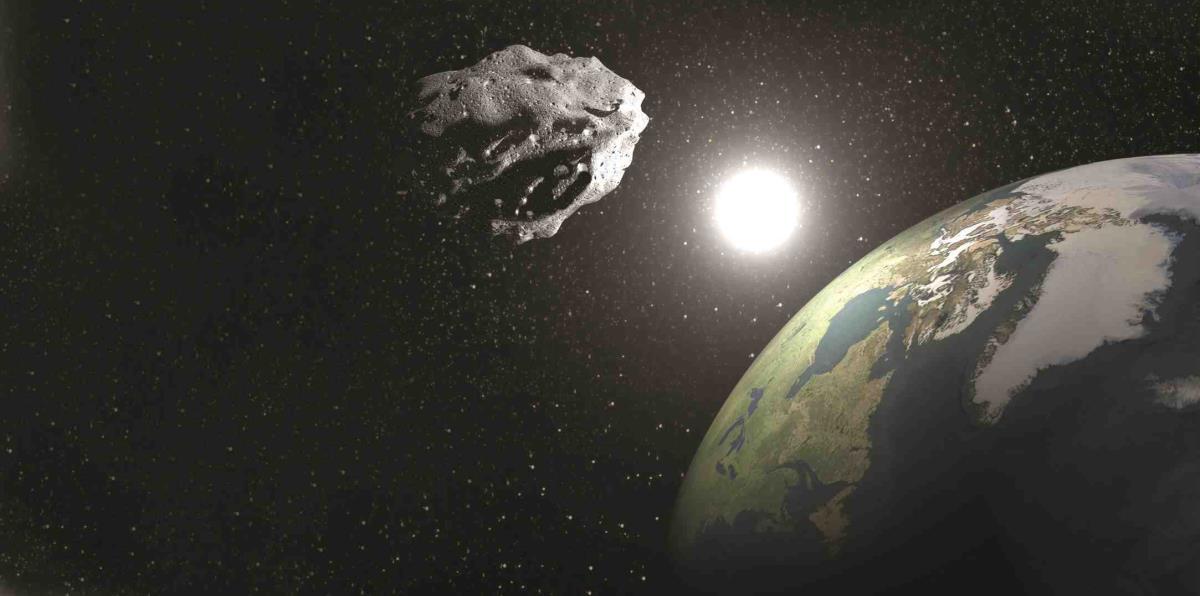 Un asteroide se acercó a la Tierra y los científicos lo vieron tarde.