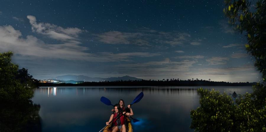 Bahía bioluminiscente. (Suministrada)