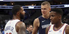 Porzingis vuelve a Nueva York ante unos caóticos Knicks