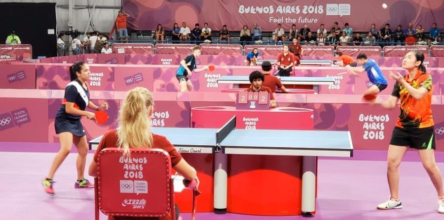 Adriana Díaz La atleta pasó invicta a la ronda de las mejores 16. (Twitter / Copur) (horizontal-x3)