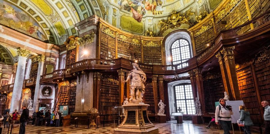 Sala de Gala de la Biblioteca Nacional de Austria