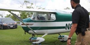 Una avioneta aterriza de emergencia en PR-165 en Cataño