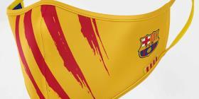 El Barça lanza su línea de mascarillas protectoras
