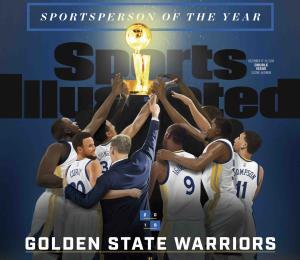 Warriors son nombrados Deportista del Año por Sports Illustrated