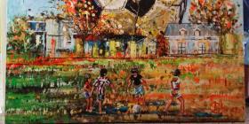 """Cientos disfrutan de la exhibición de arte de Anadell Colón Posada, """"Vamos a Jugar"""""""