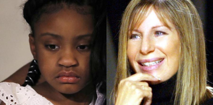 Barbara Streisand le regala acciones en Disney a la hija de George Floyd