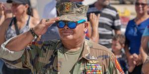 Conmemoran a los veteranos puertorriqueños en Cataño