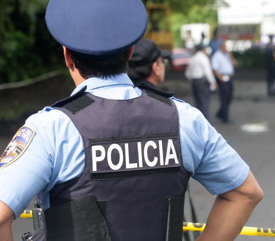 Los agentes adscritos a Patrullas de Carreteras de Fajardo, junto al fiscal Jaime Perea, se encargaron de la investigación. (semisquare-x3)