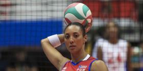 Karina Ocasio y Aury Cruz vuelven a retirarse de la Selección Nacional de voleibol