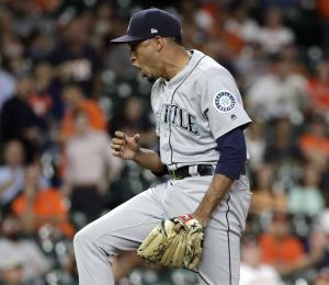 Los Marineros barren la serie contra los Astros