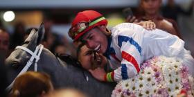 Irad Ortiz repite como Jinete del Año en los premios Eclipse