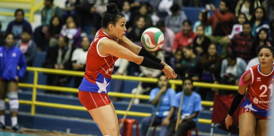 Daly Santana en acción con la selección femenina. (GFR Media) (horizontal-x3)