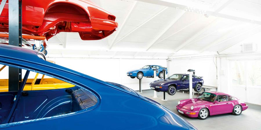 Los modelos 911 han tenido un sinnúmero de colores raros en su historia.