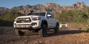 Toyota Tacoma PRO: comanda en la carretera