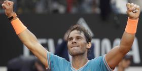Rafael Nadal sale airoso en el Abierto de Italia