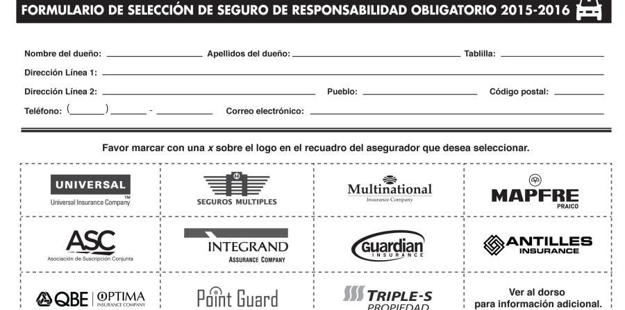 Te toca escoger el seguro compulsorio el nuevo d a for Seguro responsabilidad civil autonomos obligatorio