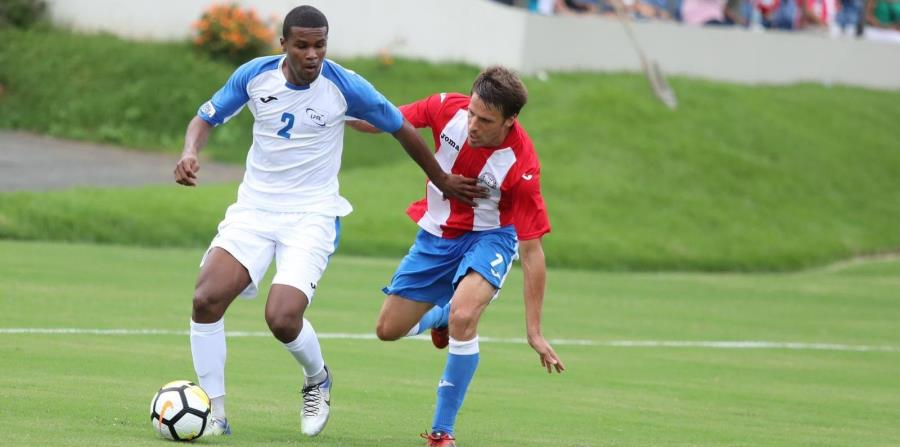 Martinica marcó su único gol en el minuto 47 ante Puerto Rico. (Suministrada / Federación de Fútbol) (horizontal-x3)