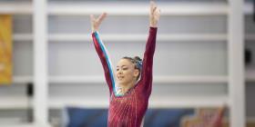 La gimnasta Paula Mejías gana oro en Portugal