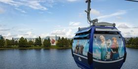 Disney estrena sistema de transporte entre los parques y hoteles de Orlando